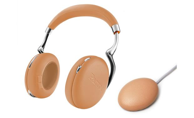 parrot zik 3 full grain leather camel bluetooth wireless noise canceling headphones with. Black Bedroom Furniture Sets. Home Design Ideas