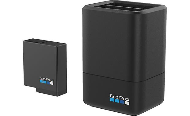 GoPro Dual Battery Charger and Battery Front