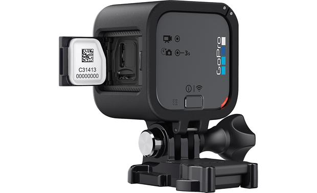 GoPro HERO5 Session Micro USB and memory card slot