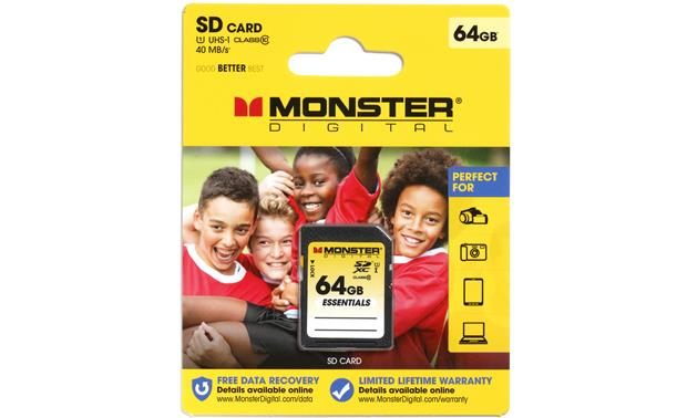 Monster SDXC Memory Card Front