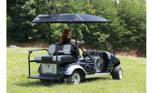Boss/VIP Golf Cart Sound System One great-sounding cart