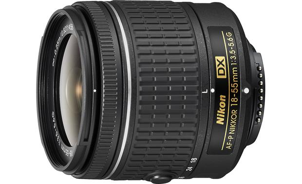 Nikon AF-P DX Nikkor 18-55mm f/3.5-5.6G Side