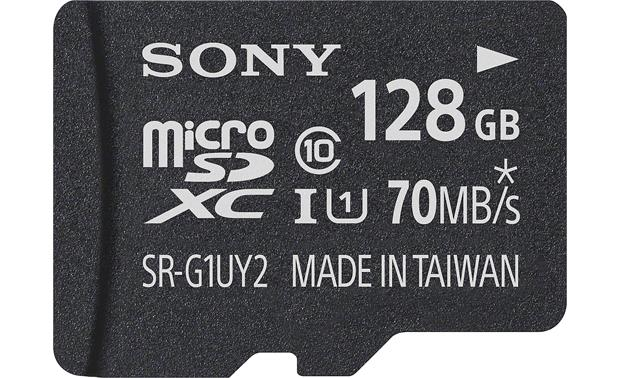 Sony microSDXCMemory Card Front