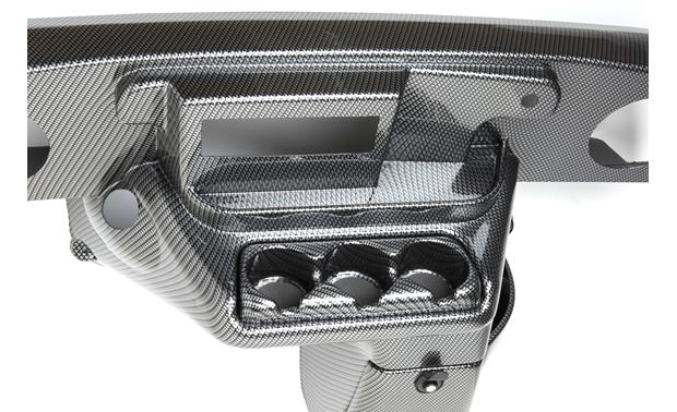 VIP Dash Kit for DIN Radios Carbon Fiber Weave