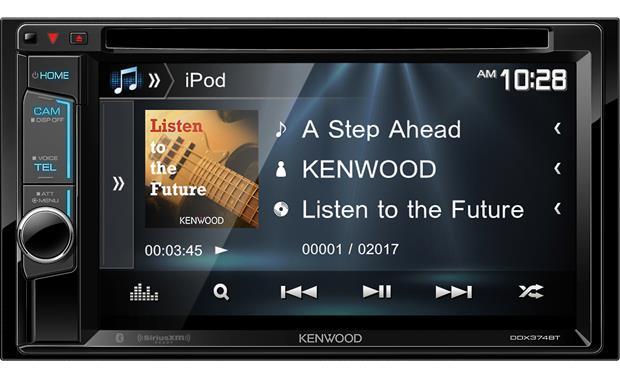 kenwood ddx374bt dvd receiver at. Black Bedroom Furniture Sets. Home Design Ideas