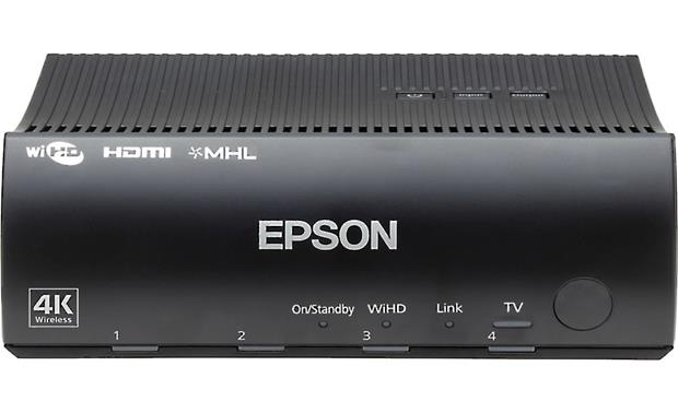 Epson Home Cinema 5050UBe The wireless transmitter module sends HD and 4K video to the projector