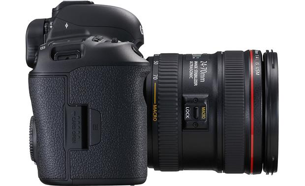 Canon EOS 5D Mark IV L-series Standard Zoom Lens Kit Left side