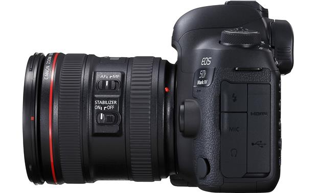 Canon EOS 5D Mark IV L-series Standard Zoom Lens Kit Right side