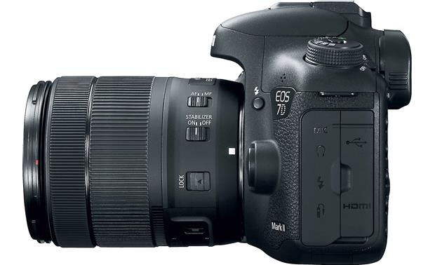 Canon EOS 7D Mark II Wi-Fi® Kit Right side
