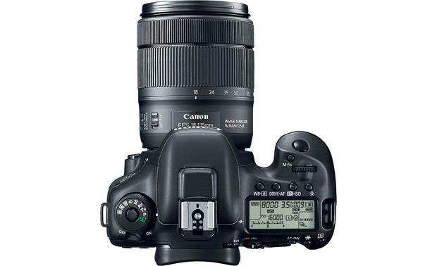 Canon EOS 7D Mark II Wi-Fi® Kit Top