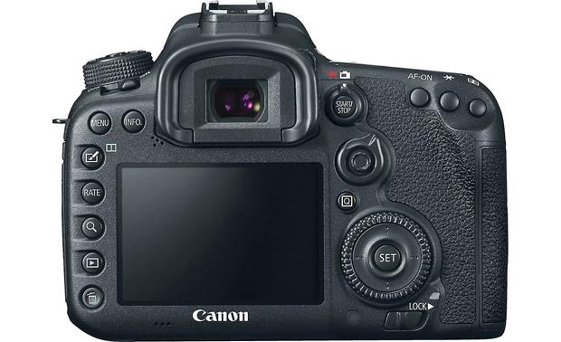 Canon EOS 7D Mark II Wi-Fi® Kit (no lens included) Back