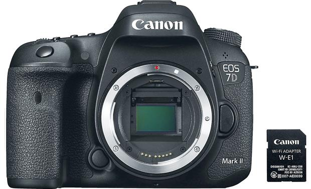 Canon EOS 7D Mark II Wi-Fi® Kit (no lens included) Camera and Wi-Fi adapter