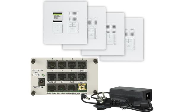 On-Q Selective Call Four-location Intercom Kit Front