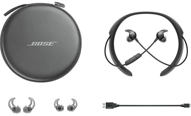 Bose® QuietControl® 30 wireless noise-cancelling headphones Included case and accessories