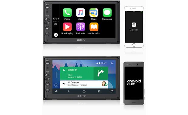 Sony XAV-AX100 Works with Android Auto and Apple CarPlay