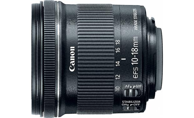 Canon Portrait & Travel Two Lens Kit 10-18mm f/4.5-5.6 IS STM side view