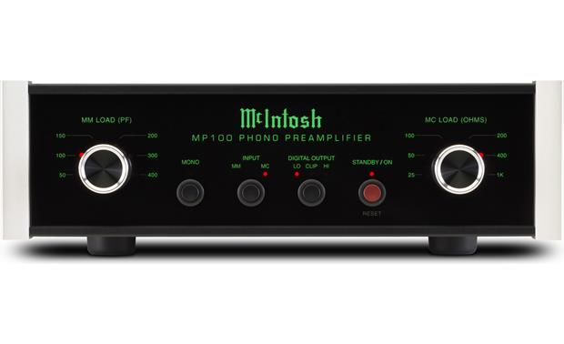 McIntosh MP100 Large, easy-to-use controls