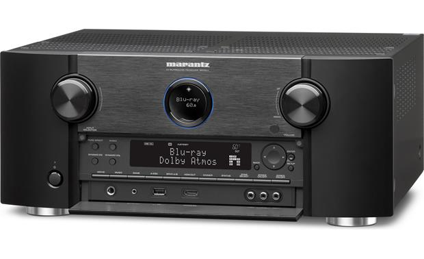 Marantz SR7011 Front-panel display and connections