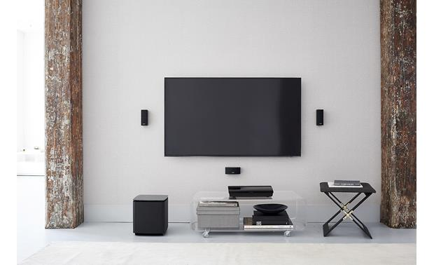 Bose® Lifestyle® 600 home theater system Full, powerful surround sound from space-friendly speakers