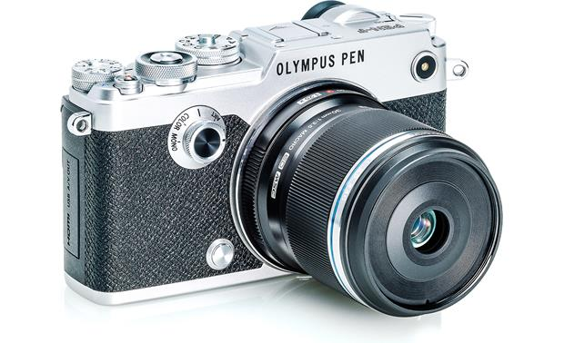 Olympus M. Zuiko Digital ED 30mm f/3.5 Shown mounted on Olympus PEN F (camera not included)