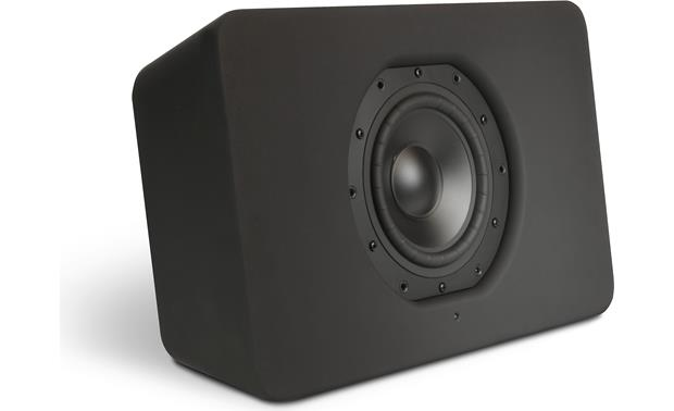 Bluesound Pulse Sub Black - with grille removed