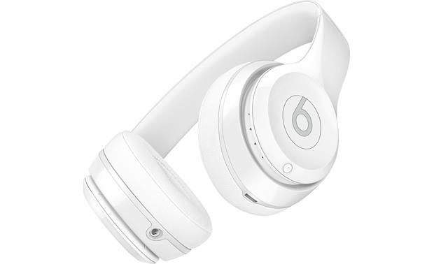 Beats By Dr Dre Solo3 Wireless Gloss White On Ear Bluetooth