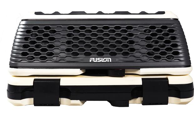 Fusion StereoActive Works with Fusion ActiveSafe storage container