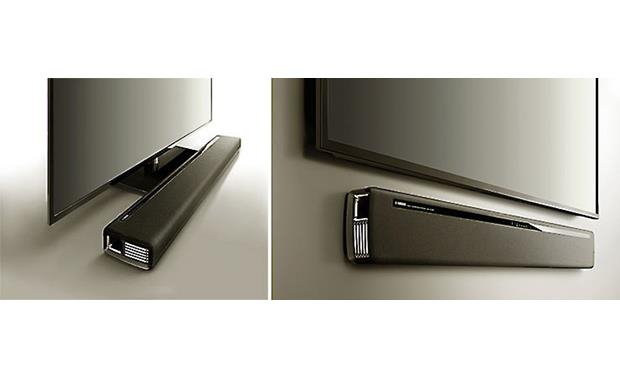 Yamaha YAS-706 Can be wall-mounted or placed on a TV stand
