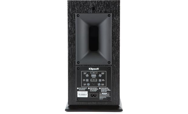 Klipsch Reference Premiere HD Wireless 5.1 Surround Sound System Back of bookshelf speaker