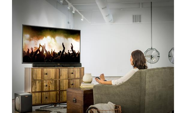 Klipsch Reference RSB-14 Fits neatly into your living room setup