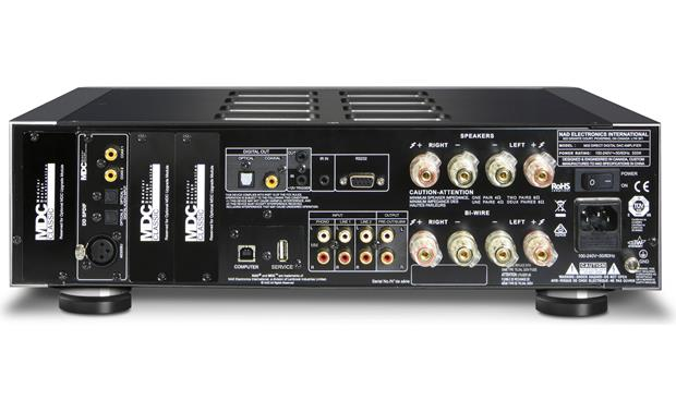 NAD M32 Masters Series Back, with included DD SPDIF module