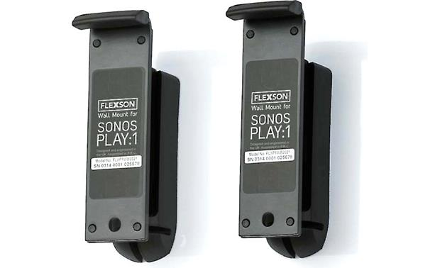 Flexson Wall Mounts for Sonos PLAY:1 Mount your speakers for a clean, finished look