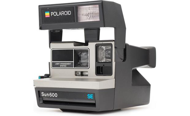 impossible refurbished polaroid 600 square camera silver instant rh crutchfield com Manual for Polaroid 600 Battery polaroid sun 600 manual pdf