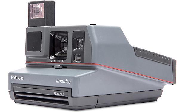 impossible refurbished polaroid 600 impulse camera instant camera at rh crutchfield com Polaroid Impulse 600 Plus Film Polaroid Impulse QPS