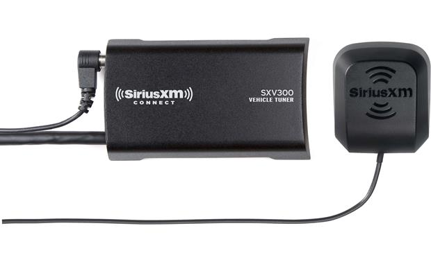 RetroSound Long Beach SXM Sirius XM satellite radio tuner and antenna