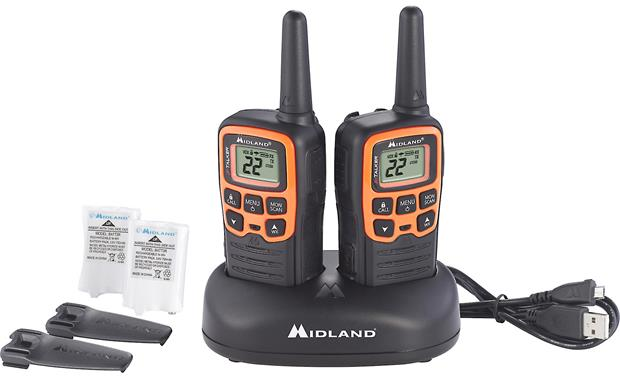 Midland X-Talker T51VP3 Radios and charging base