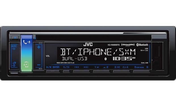 JVC KD-R988BTS This JVC combines smartphone integration with a great look in your dash