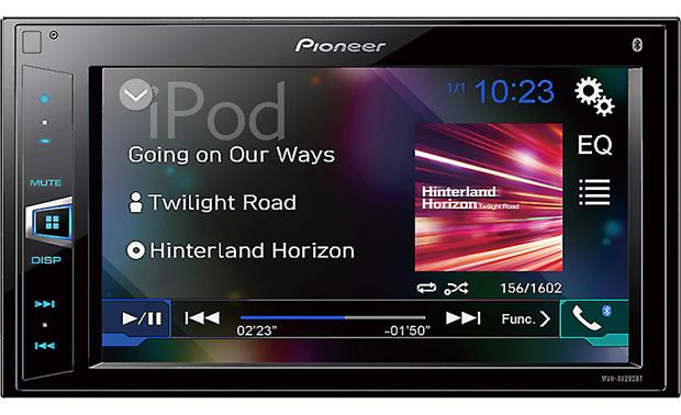 pioneer mvh av290bt digital multimedia receiver (does not play cds Petsafe Wiring Diagram pioneer mvh av290bt digital media receiver