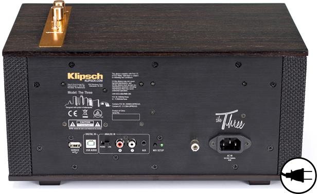 Klipsch The Three Ebony - AC Power Required