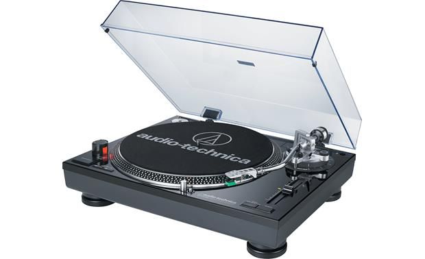 Audioengine A2+/Audio-Technica AT-LP120BK-USB Bundle The turntable is packed with DJ-friendly features