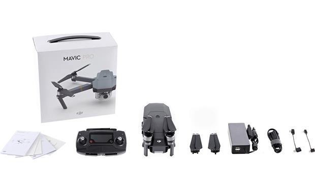 DJI Mavic Pro Quadcopter Everything you need to get started is included