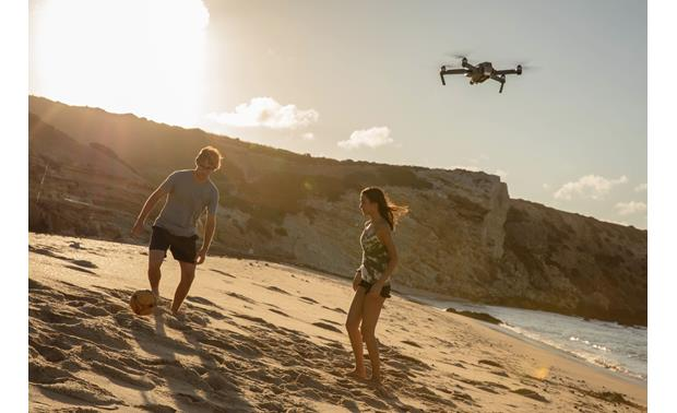 DJI Mavic Pro Quadcopter Shown in flight