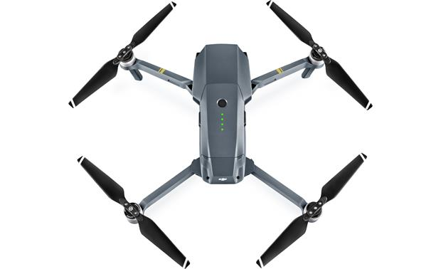 DJI Mavic Pro Quadcopter Shown from top