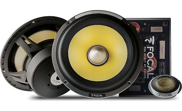 Focal ES 165KX2 Focal builds the K2 Power Series by hand in France.