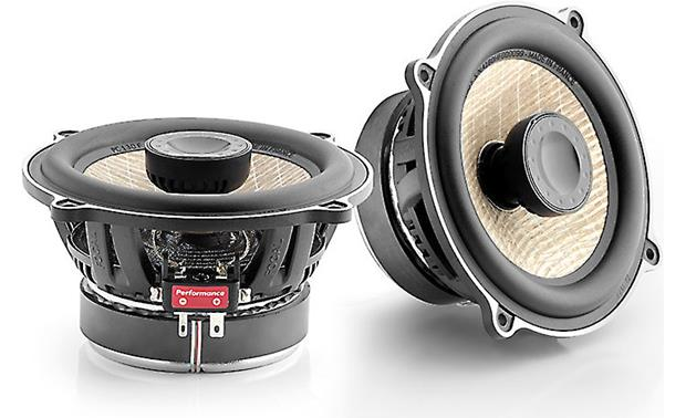 Focal PC 130F The inverted dome tweeters of these Focal coaxial speakers mimic woofer-style sound dispersion for an exceptional soundstage
