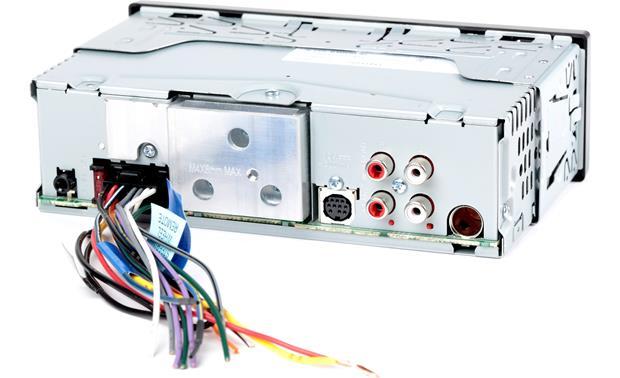 jvc kd x330bts digital media receiver (does not play cds) at JVC R330 Wiring-Diagram jvc kd x330bts shallow mount chassis