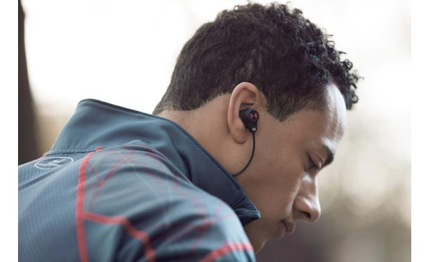 Under Armour® Headphones Wireless — Engineered by JBL Patented TwistLock� technology secures them in-ear during use