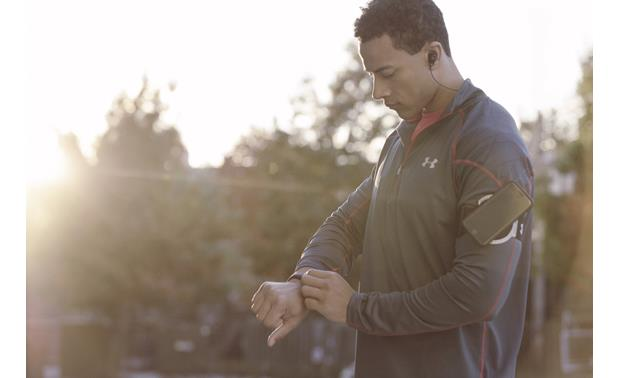 Under Armour® Headphones Wireless — Engineered by JBL Move around with wireless freedom
