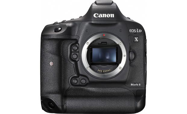 Canon EOS-1D X Mark II (no lens included) Front, with mirror down