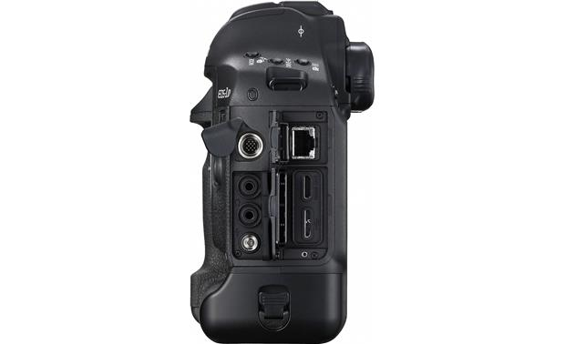 Canon EOS-1D X Mark II (no lens included) Right side with ports shown